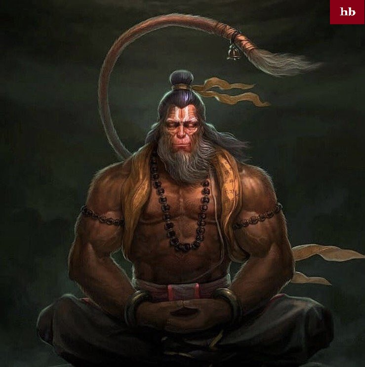 lord_hanuman_rudra_roop_image download hd
