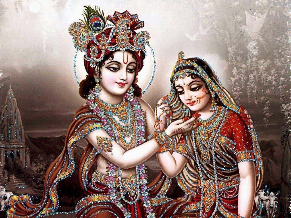 krishna aur ma radha photo