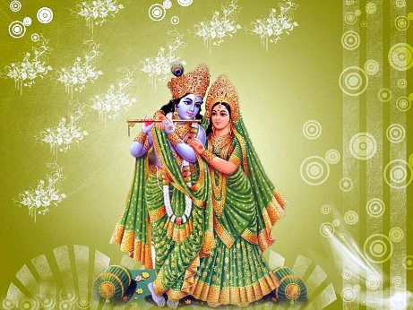 Beautiful Radha Krishna HD Wallpaper