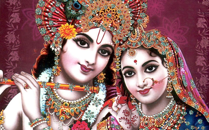 Goddess Radha and Lord Krishna Images