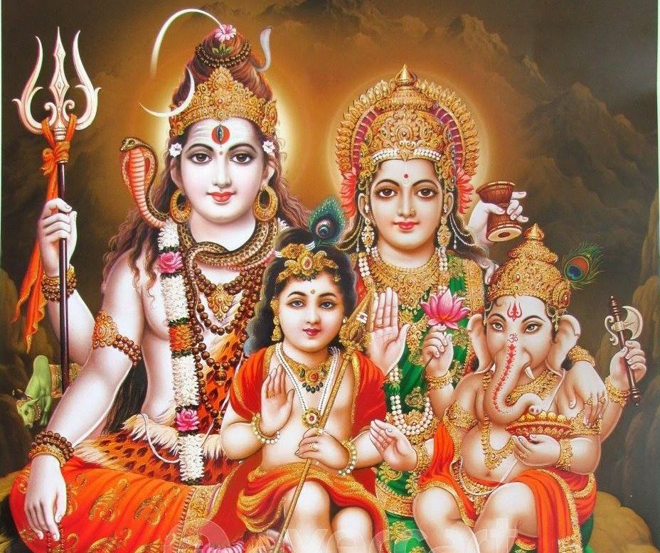 lord_murugan_family_pictures