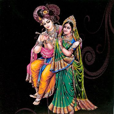 Divine Radha and Lord Krishna Images